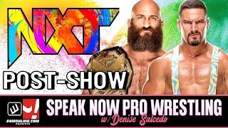 WWE NXT 2.0: Can Ciampa & Bron Breakker Co-Exist?! | Speak Now Pro Wrestling w/ Denise Salcedo
