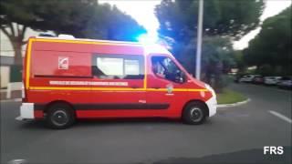 [Falscher Schalter] VLSM + VSAV + VTU SDIS 06 Sapeurs Pompiers Antibes GT Centre