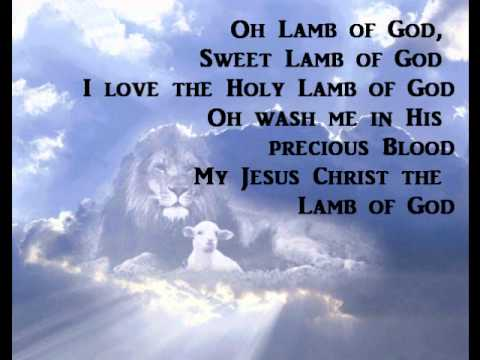 Lamb of God-The Maranatha Singers-with lyrics