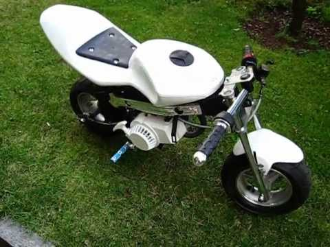 pocket bike start up youtube. Black Bedroom Furniture Sets. Home Design Ideas