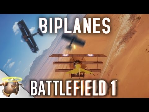 Battlefield 1: Tips for learning the Attack and Fighter planes! (1440p, 60 FPS)