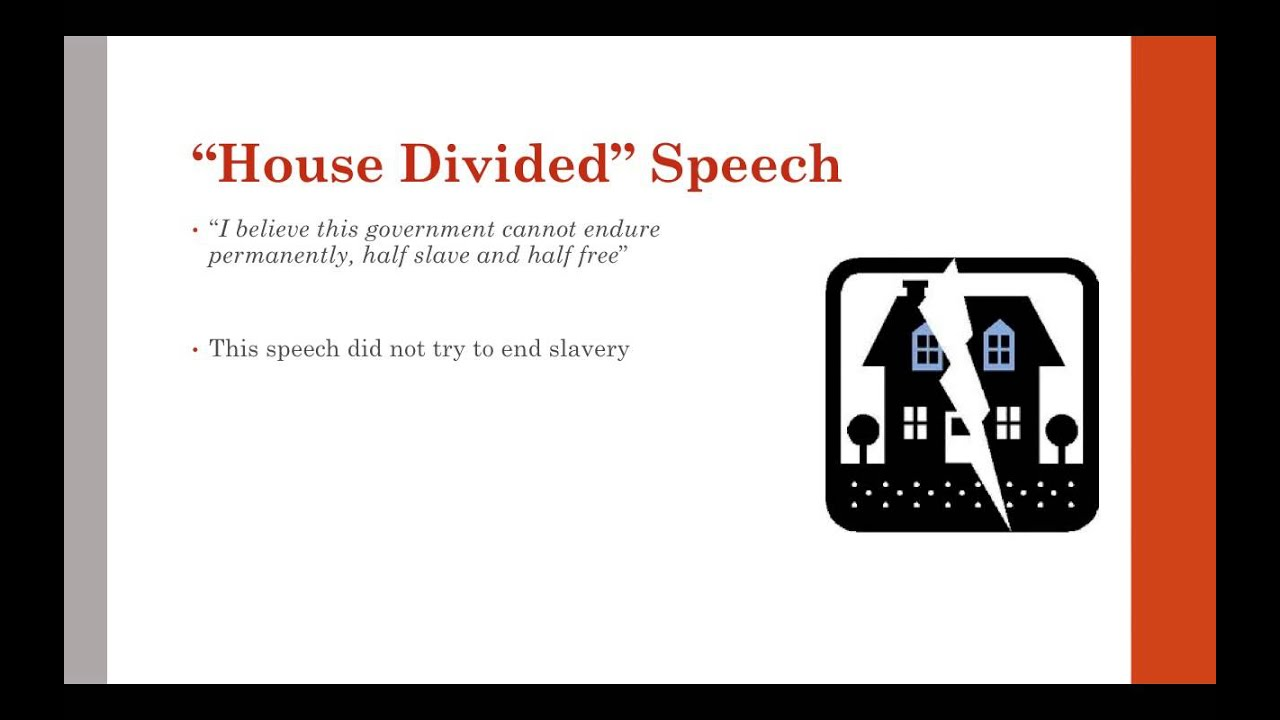 abraham lincoln a house divided summary