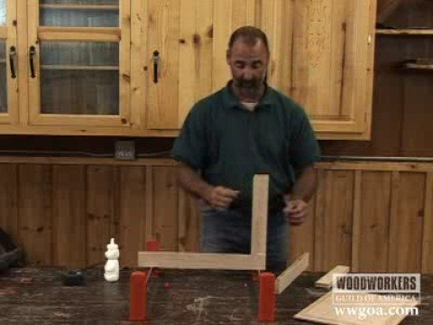 Woodworking Project Cabinet Door Assembly Youtube