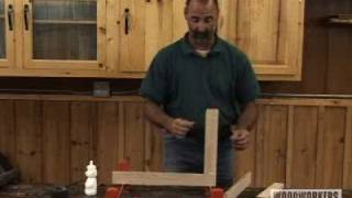 Woodworking Project - Cabinet Door Assembly