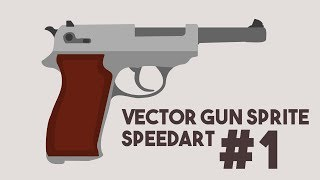 Walther P38 | Vector Weapon Sprites Speed Art #1 | With Download