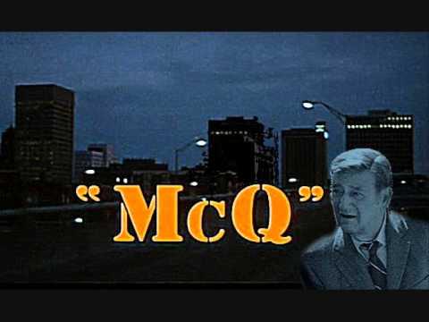 John Wayne - McQ schlägt zu - Soundtrack Elmer Bernstein