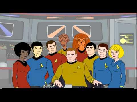 Star Trek TAS music.