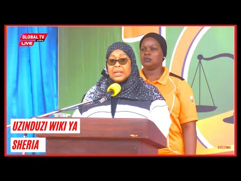 🔴#LIVE: MAKAMU wa RAIS Afungua WIKI ya SHERIA na MIAKA 100 ya MAHAKAMA KUU..