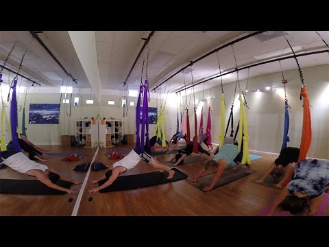 Aerial Yoga for Beginners w/ Kerry Tice thumbnail
