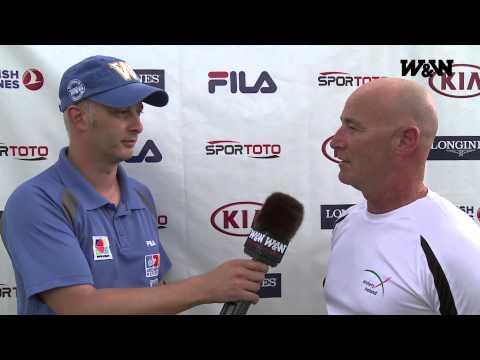 Flash Interview 2013 - Keith HANLON (IRL) - Belek (TUR) - World Archery Championships
