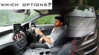 What Options to Spec on Mercedes CLA 45 AMG & A45 AMG