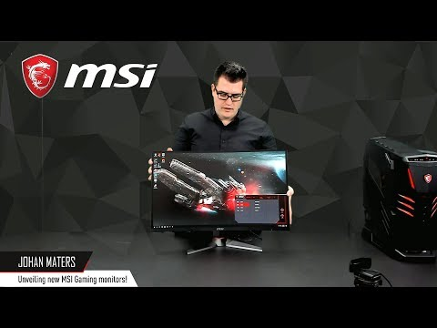 Unveiling the new MSI Curved Gaming Monitors | Optix MAG