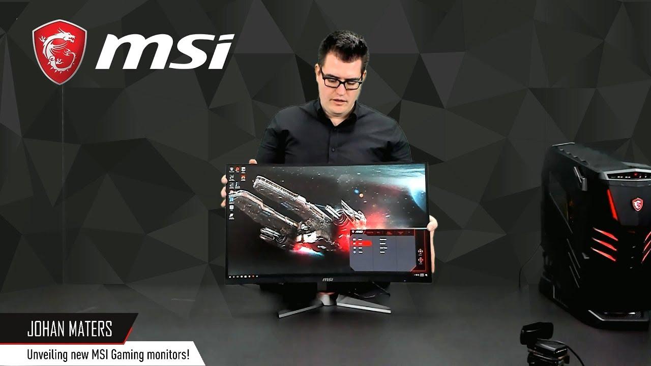 Unveiling the new MSI Optix MAG   Gaming Monitor   MSI