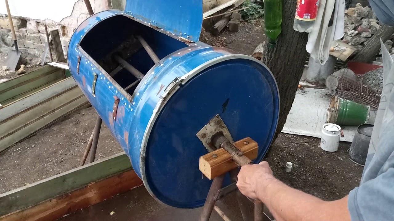 Самодельная бетона мешалка коронка по бетону купить спб
