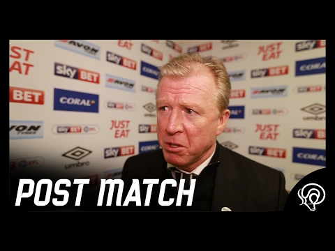 POST MATCH | Steve McClaren Post Cardiff City (H)