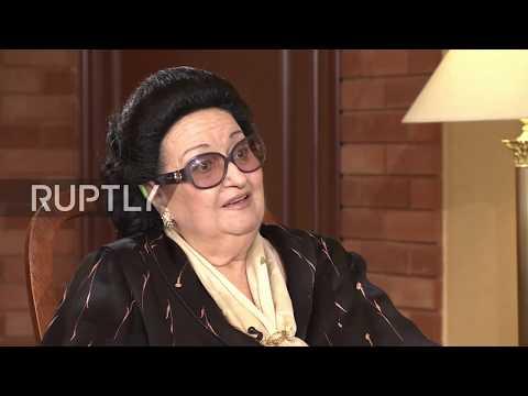 Legendary Soprano Montserrat Caballe dies aged 85 *ARCHIVE*