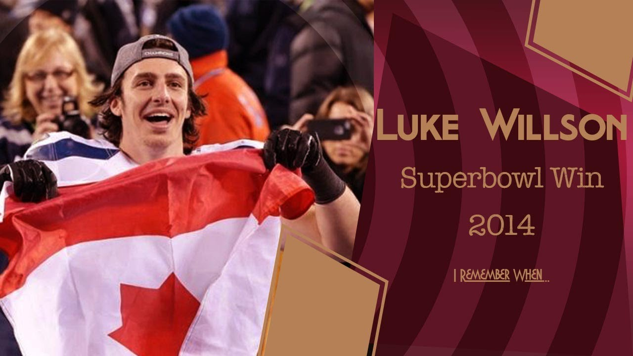 Luke Willson, I Remember When....