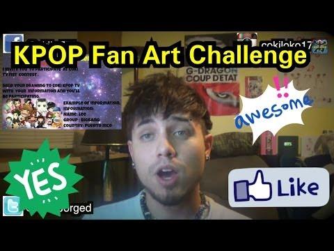 KPOP Fan Art Challenge | Coki T.V