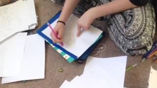 Bebs art class! Pt.1!