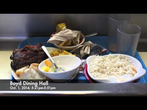 Food Waste in Ohio University Dining Halls