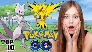Top 10 POKEMON GO Things You Should Know
