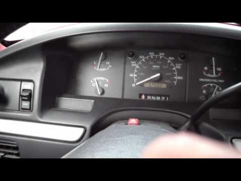 How to read a check engine light code on a Ford 1983-1995 EEC 4 system