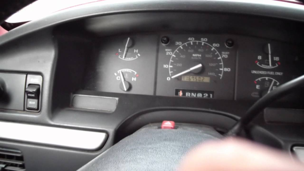 How To Read A Check Engine Light Code On Ford 1983 1995 Eec 4 System You