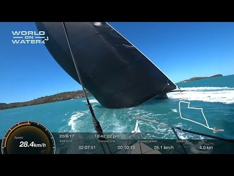 World on Water TV September 01 17 Exclusive On-Board Wild Oats XI, SWC, ExSS, Farr 40, US Sailing