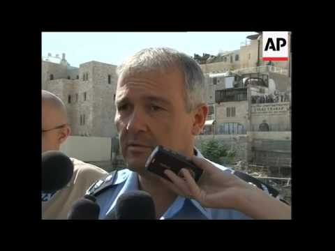 Reaction to scuffles at holy site; Hamas, Israeli cabinet, police