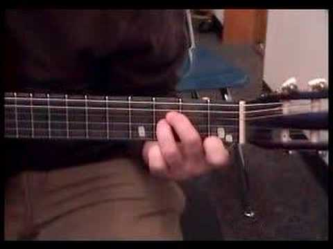 How To Play The Bb Bee Flat Major Chord On The Guitar Youtube