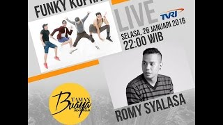 Funky Kopral live Taman Buaya Beat Club TVRI Nasional - 26 Januari 2016