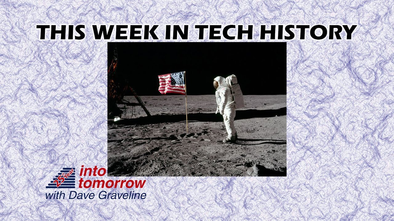 This Week in Tech History: One Small Step for Man   Into Tomorrow