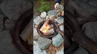 How to quickly start your campfire