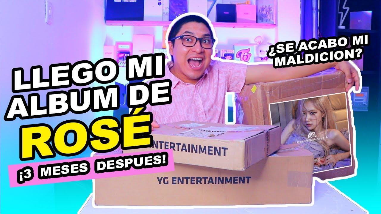 ME LLEGO EL ALBUM DE ROSÉ   UNBOXING DE TODAS LAS VERSIONES ¿SE ACABA MI MALA SUERTE CON YG SELECT?
