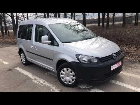 Volkswagen Caddy 2.0 с заводской метановой установкой, осмотр авто импортированного с Германии.