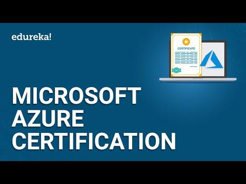 Microsoft Azure Certification | Microsoft Azure Tutorial | Azure Training | Edureka