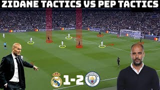 Tactical Analysis: Real Madrid 1-2 Manchester City | Zidane & Guardiola's Tactical Battle |