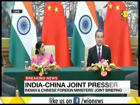 Breaking News: Sushma Swaraj meets Wang Yi; Modi to visit China next week