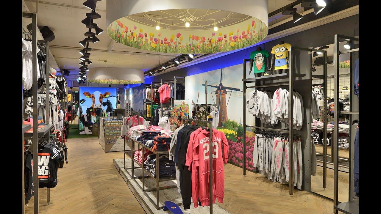 Winkelinrichting Amsterdam Designs fashion door WSB