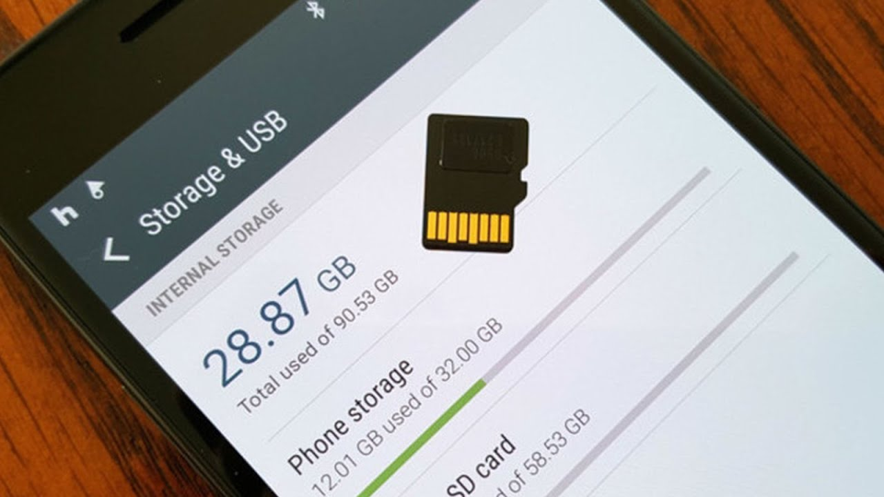Android internal storage data recovery