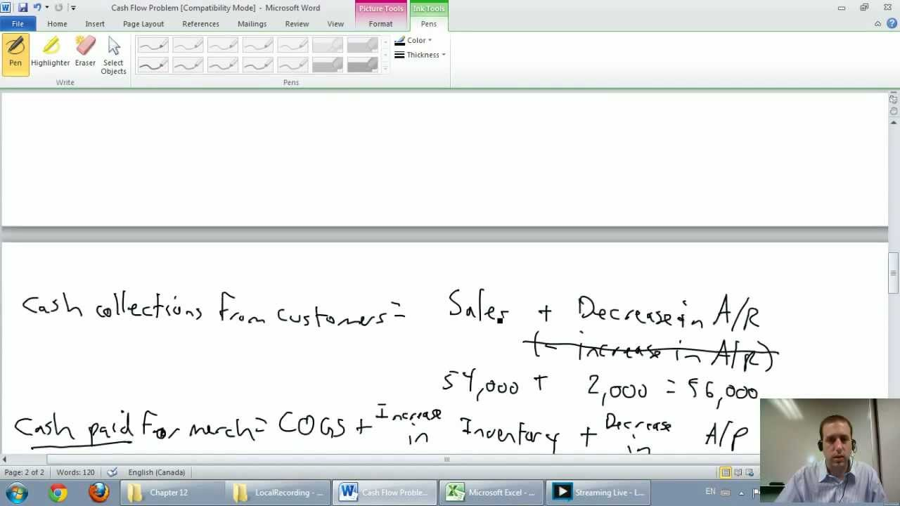Cash Flow Statement   Unit 9   Part 1a   Direct Method Example   YouTube  Method Statements Examples
