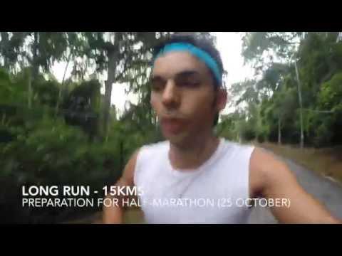 2015 OCTOBER - Running in Port of Spain (TRINIDAD & TOBAGO)