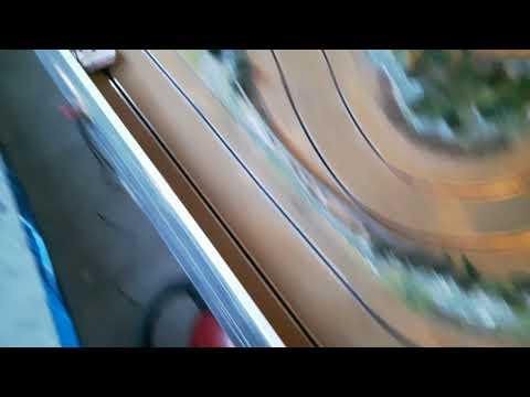 Test Ninco baan , dat word flink restaureren .#ninco #slotcar #gartenbahn #doeeenwenstrein