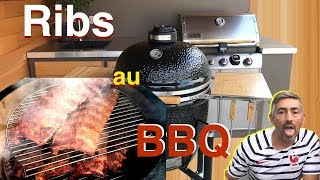 Ribs au Barbecue Monolith (travers de porc)