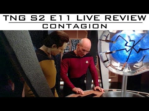 "TNG S2E11 ""Contagion"" - Live Review (Part 2)"