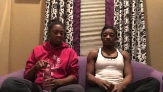 Bean boozled challenge-Adria and Simone
