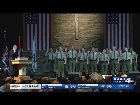 Cadets Graduate From Arkansas Game & Fish Wildlife Officer Program