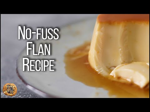 The Best Flan Recipe