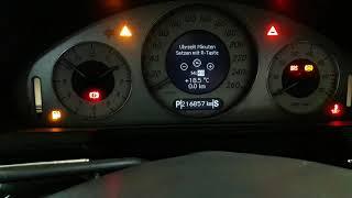 установка дата время Mercedes w 211