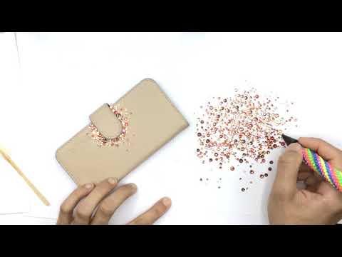 Swarovski Phone Case Embellishment With Bluestreak Crystals